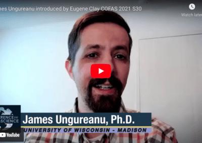 James Ungureanu introduced by Eugene Clay COFAS 2021