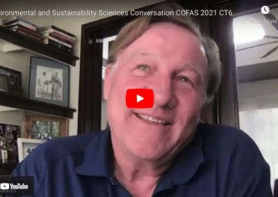 Environmental and Sustainability Sciences Conversation COFAS 2021