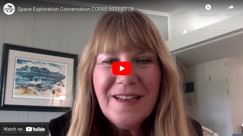 Space Exploration Conversation COFAS 2021
