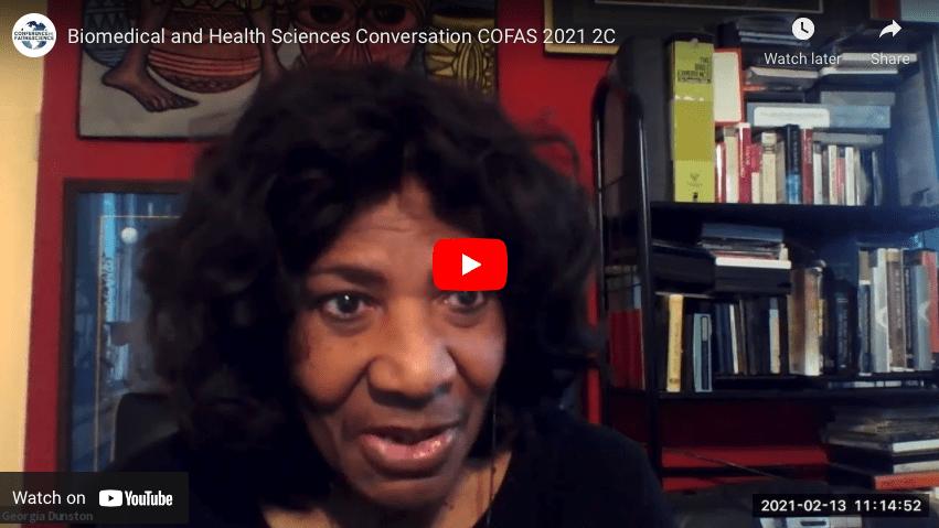 Biomedical and Health Sciences Conversation COFAS 2021